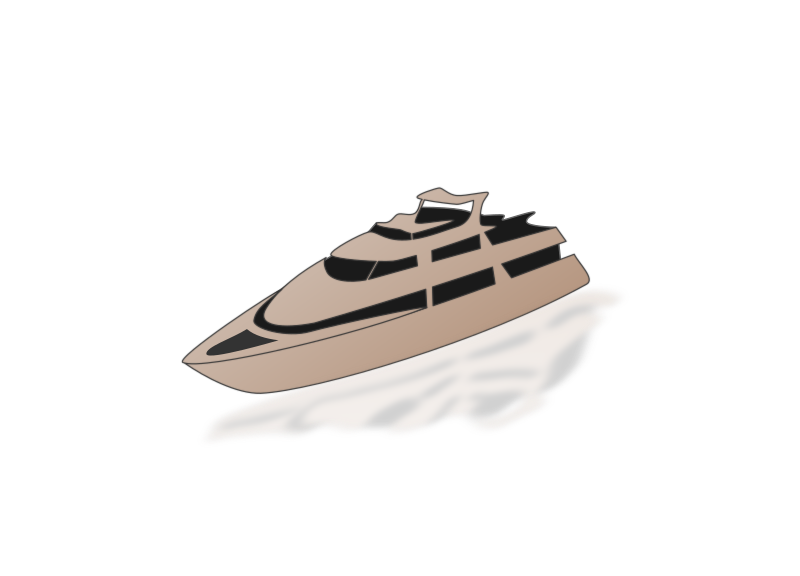 Yacht by cemkalyoncu - Simple yacht traced from a reference photo. Probably due to effects, it doesnt show the preview properly. Please click view image to see it.