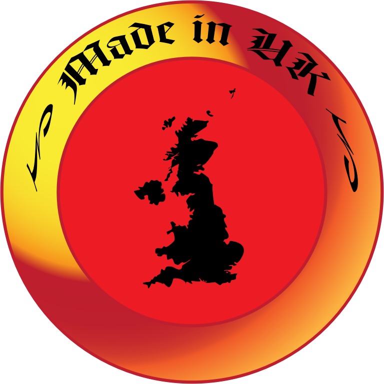 "Made in UK by jhnri4 - A ""Made in UK"" symbol."