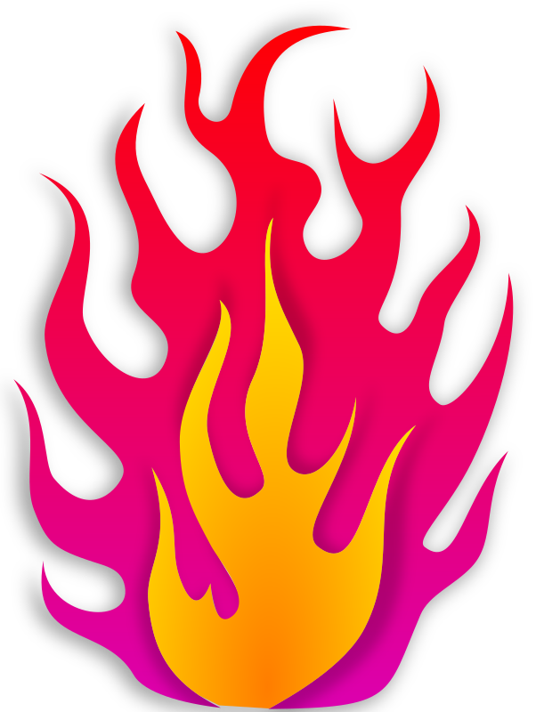 Flame by scyg - flame: openclipart.org/detail/169856