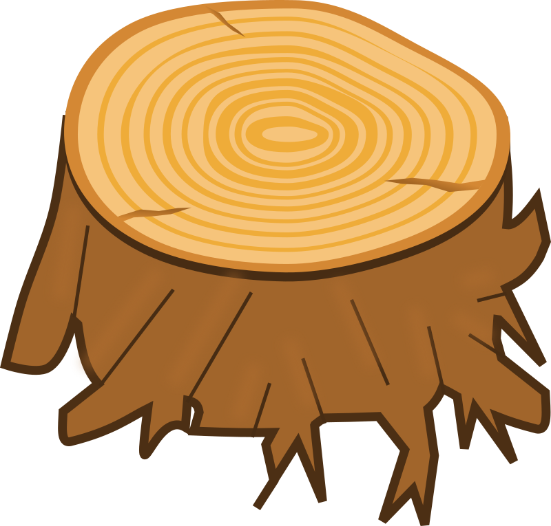 Tree stump by Magnesus - Tree stump I made for my Android game Memory Owl HD.