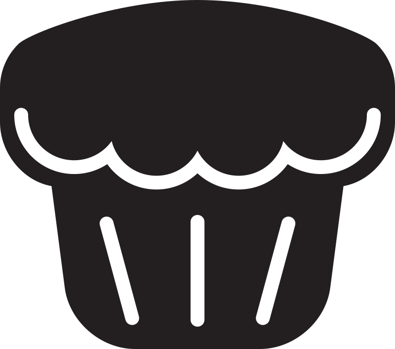 Kitchen Icon - Muffin by StudioFibonacci - Muffin
