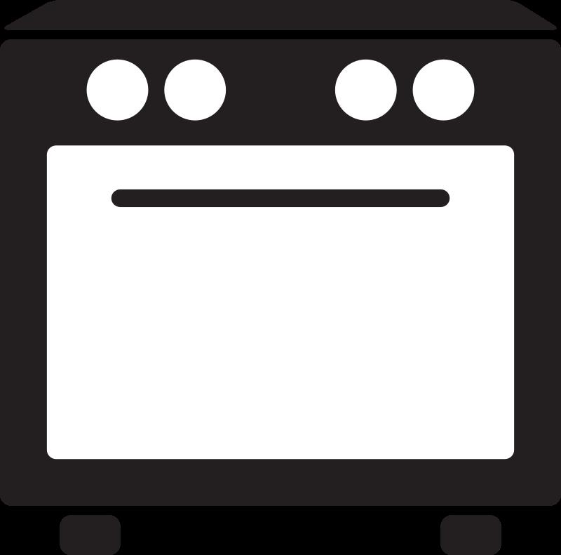 Oven Clip Art ~ Clipart oven icon