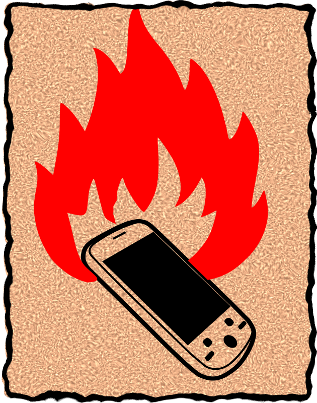 burn your phone by asrafil