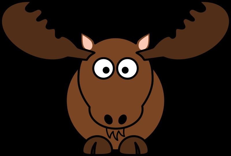 Cartoon Moose by StudioFibonacci - Cartoon moose (North America) in ...