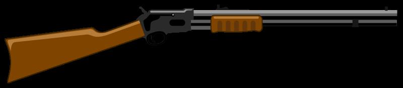 Clipart - Rifle