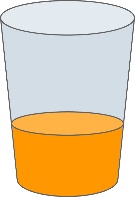 Oranje Juice Glass SVG by qubodup - Tasty I bet! Full set at http ...: openclipart.org/detail/170014/oranje-juice-glass-svg-by-qubodup