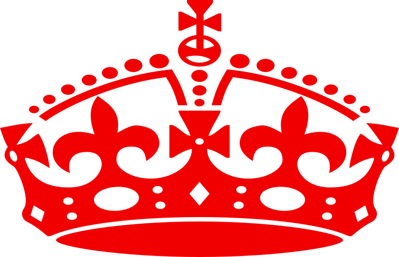 red crown clipart - photo #5