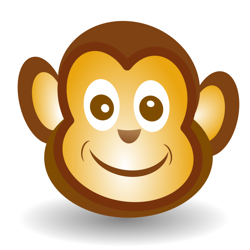 Funny Monkey Face by netalloy - Based  on Funny  monkey  face by Martouf , just added a few more elements.