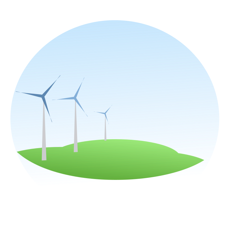 wind mills by netalloy - dedicated to World environment day (WED) June 5