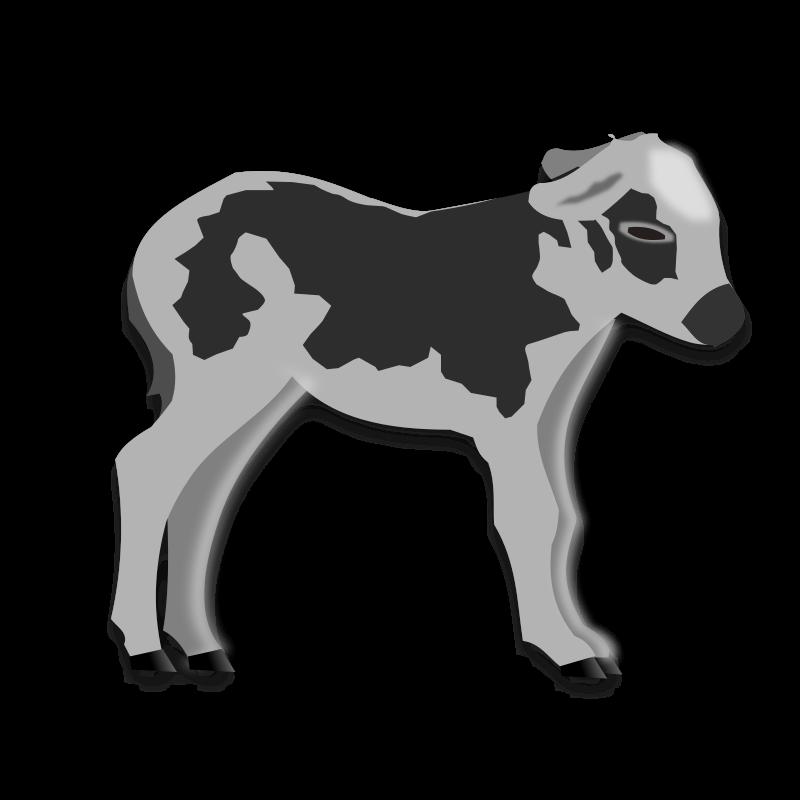 Clipart - calf