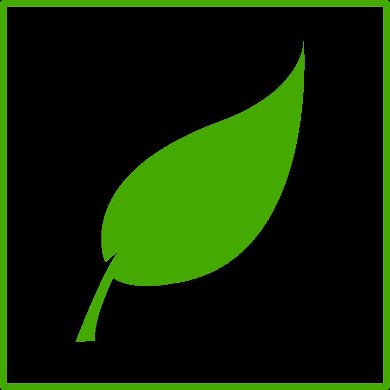 eco green leaf icon by dominiquechappard - leaf icon