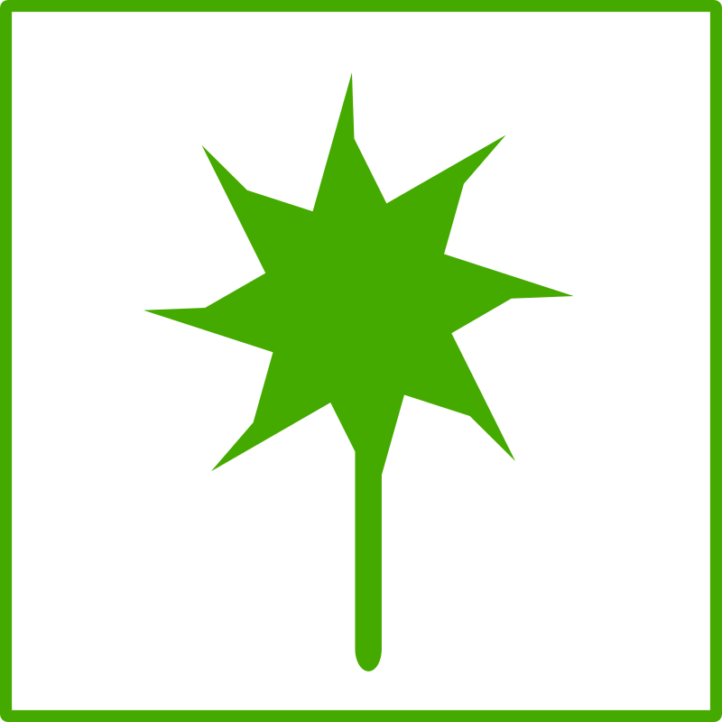 eco green flower icon by dominiquechappard - flower icon