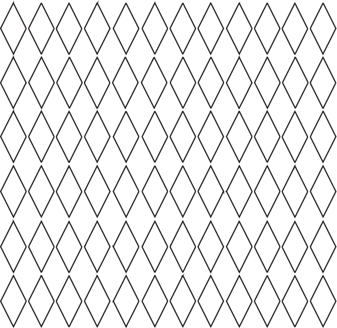 Diamond Grid Pattern - No Color 1 by TikiGiki - Diamond grid background pattern