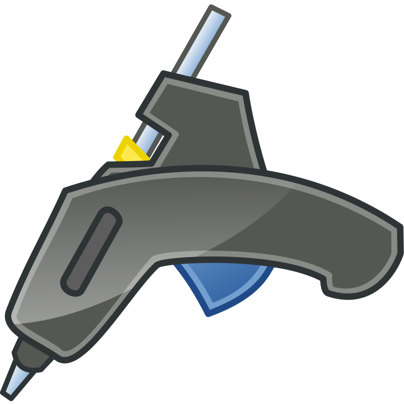 Glue Gun Tango Icon by hroncok