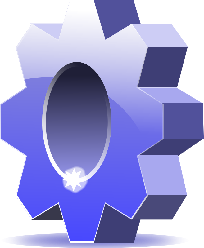 Gear - options - icon by diamonjohn