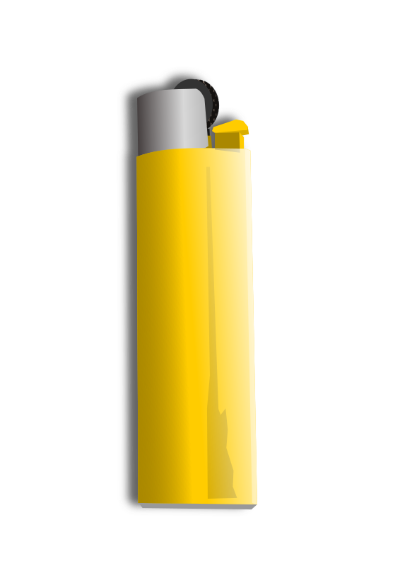lighter by hatalar205 - A simple lighter clipart