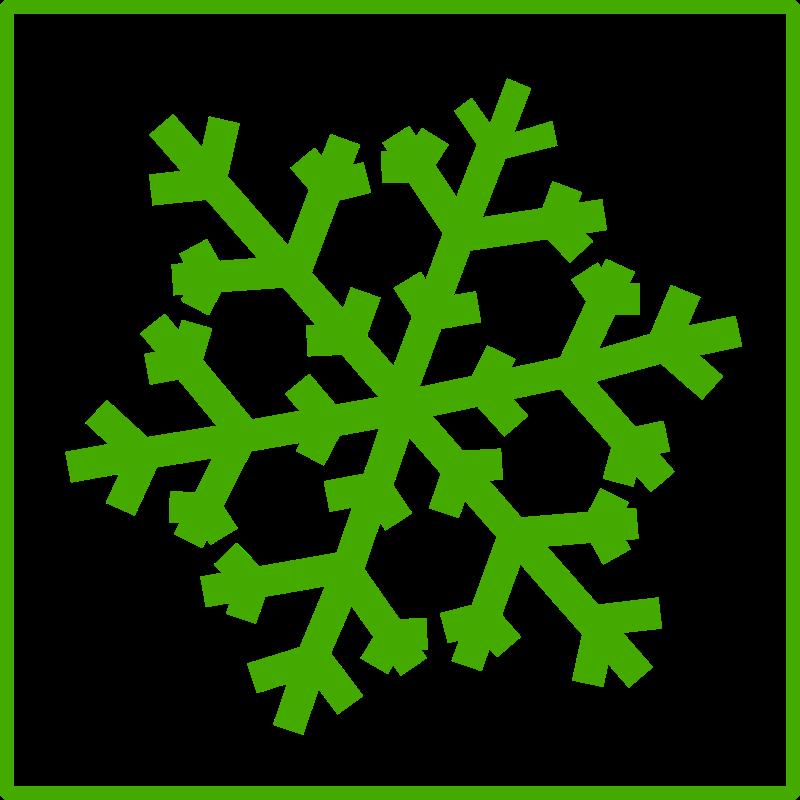 eco green snow icon by dominiquechappard - snow icon
