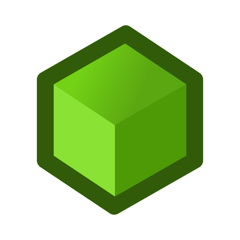 icon_cube_green by jean_victor_balin