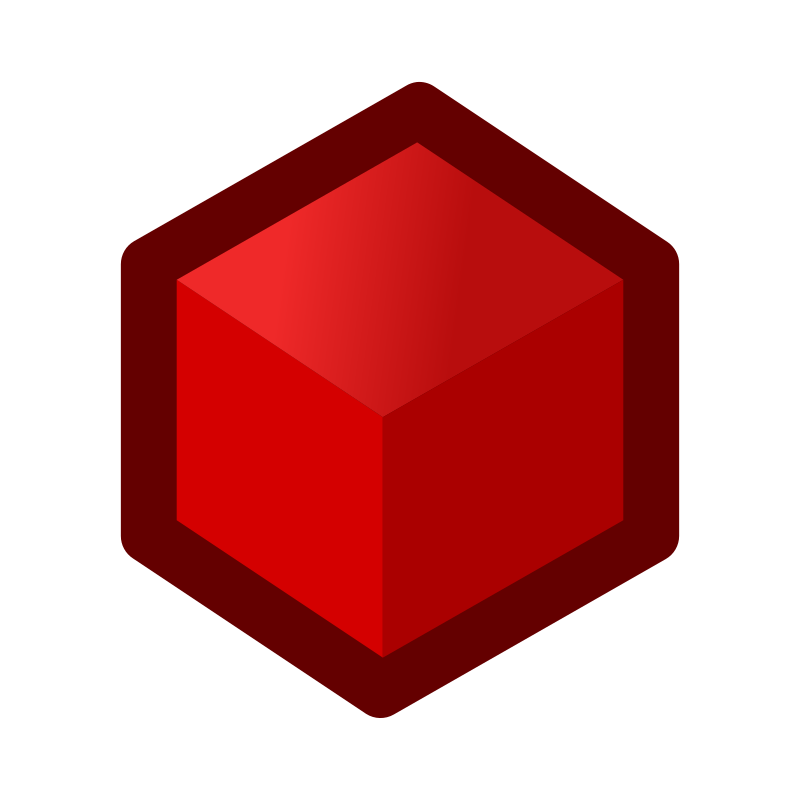 icon_cube_red by jean_victor_balin