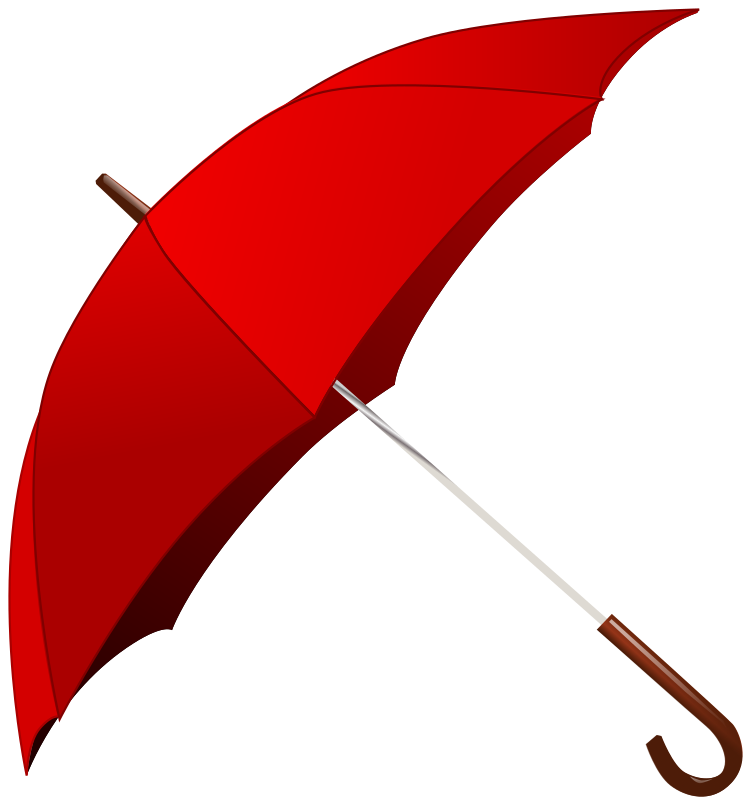 Red Umbrella by gnokii - a open umbrella