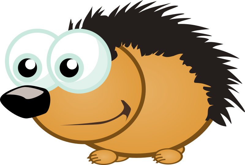Small Hedgehog by Magnesus - Small hedgehog made for Memory Owl game for Android and Ubuntu.