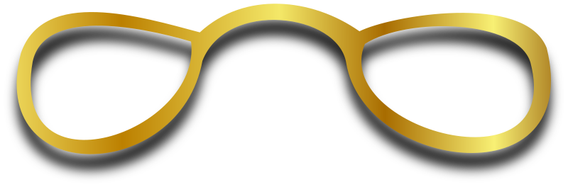 Spectacles by Merlin2525 - Simple spectacles drawn with Inkscape.