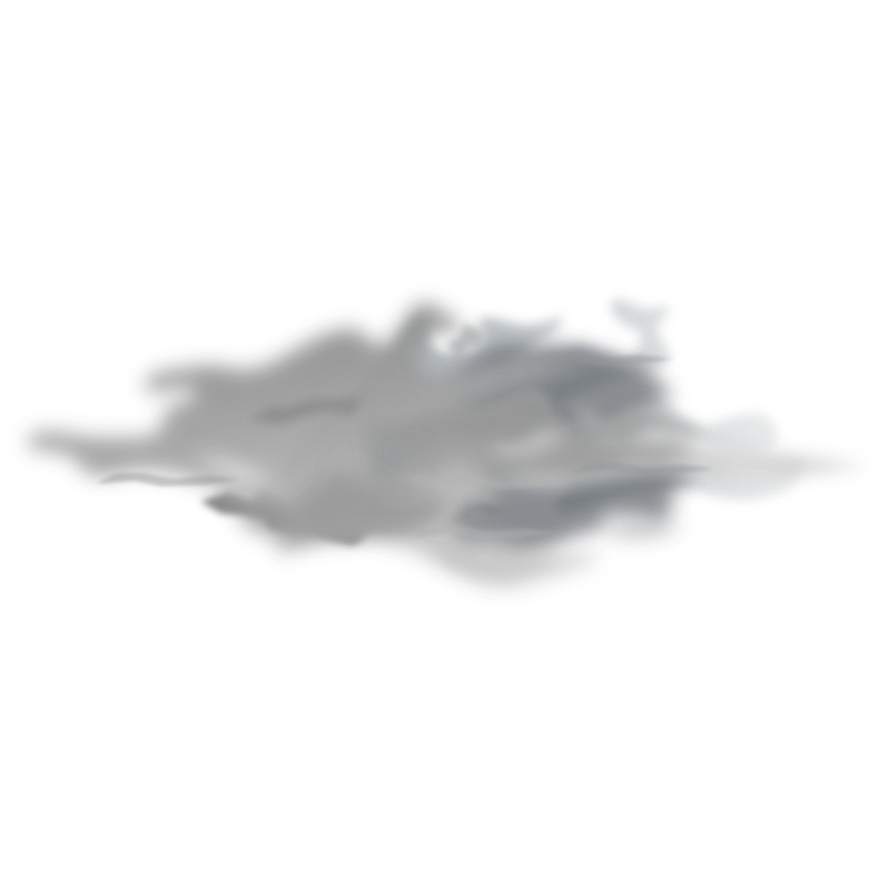 weather icon - overcast by gnokii - weather icon - overcast