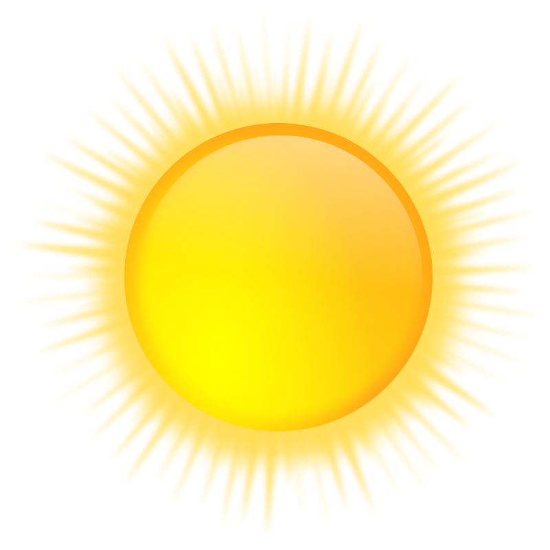 weather icon - sunny by gnokii