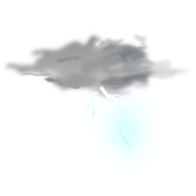 weather icon - thunder by gnokii - weather icon thunder