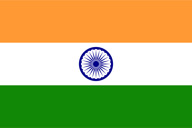 Flag of India by eternaltyro