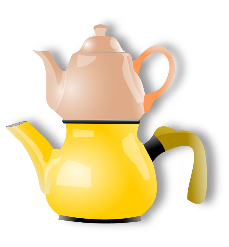 shiny teapot by hatalar205 - A simple teapot clipart