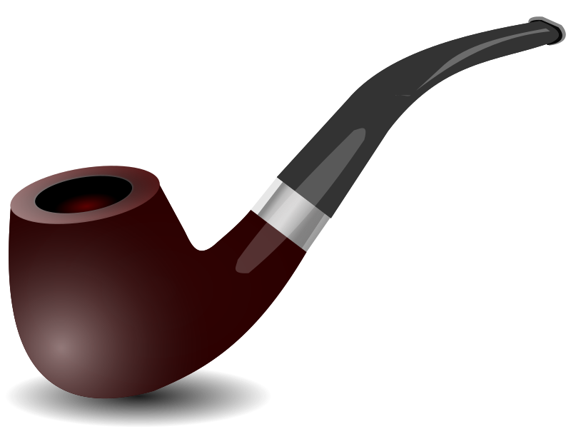 pipe by hatalar205 - A simple smoking pipe clipart.