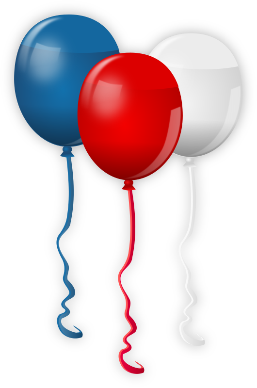 4th July Balloons by gnokii -  Independence Day balloons