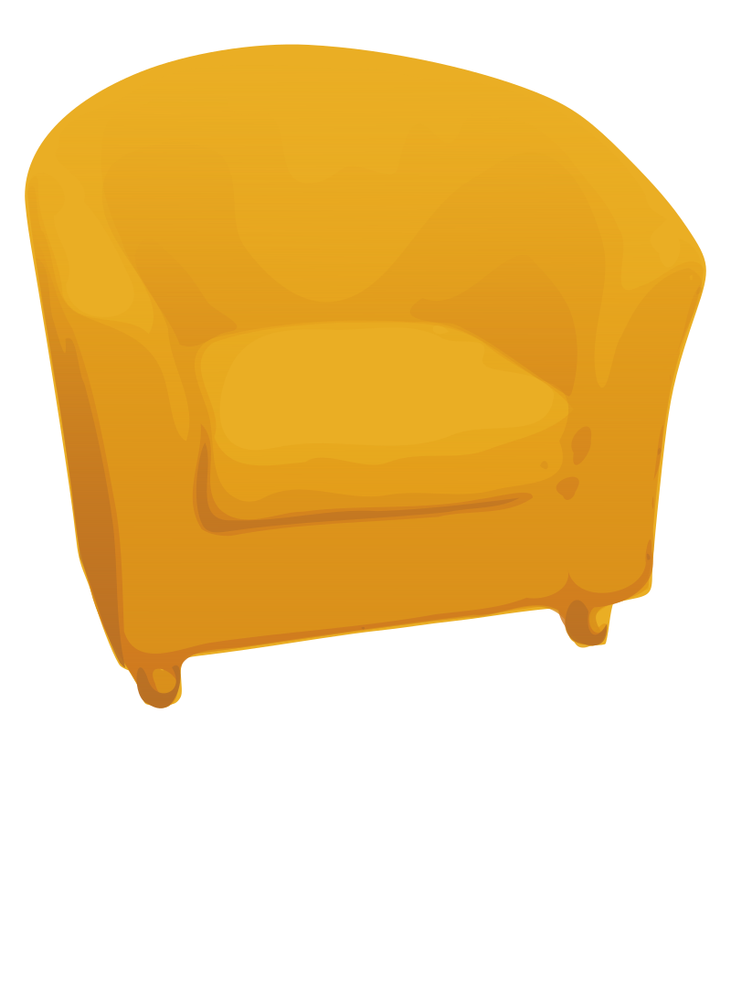 Single sofa by valyo a armchair for Sofa clipart