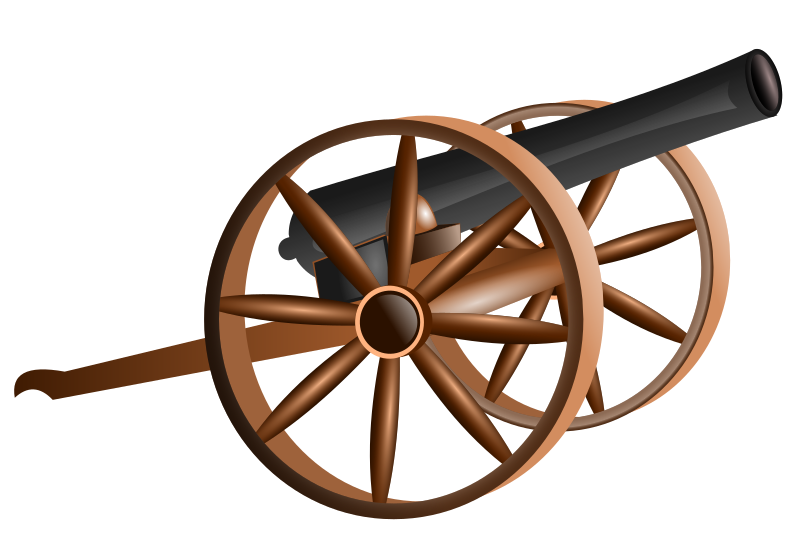 cannon by hatalar205 - A simple cannon clipart.