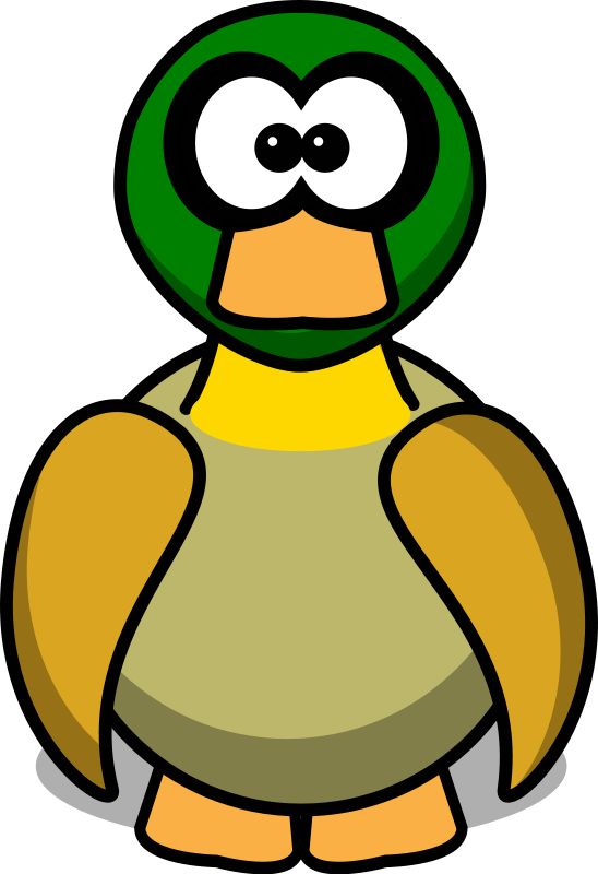 Cartoon Duck by paweo111