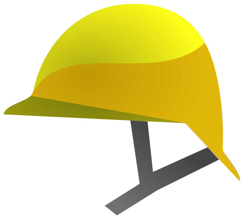 Safety helmet icon by mlampret
