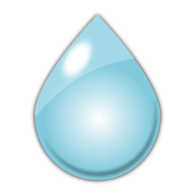 Clipart - Raindrop1