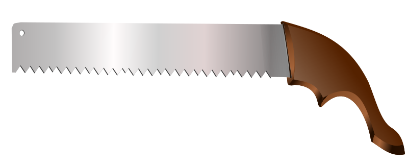 saw by hatalar205 - A simple saw clipart.