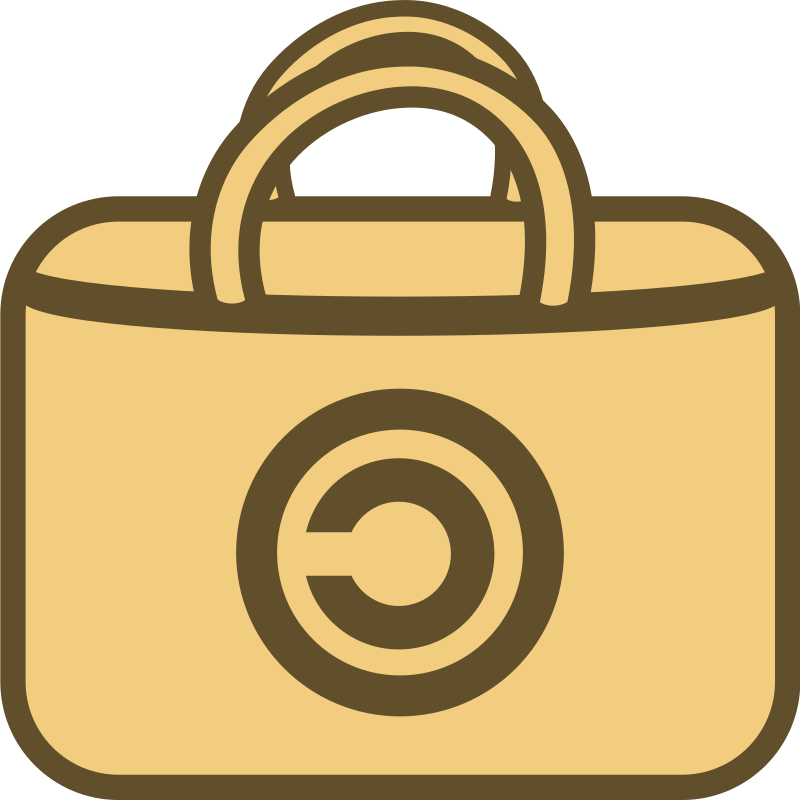 Free, Open Source Software Store Logo/Icon by qubodup - free/ open source software shop icon