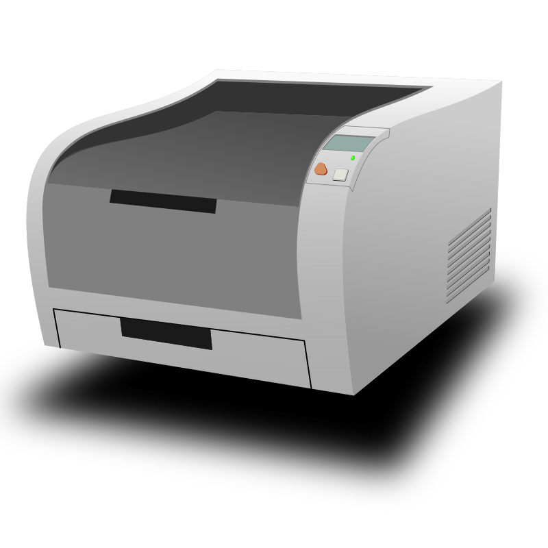 Clipart - Laser Printer