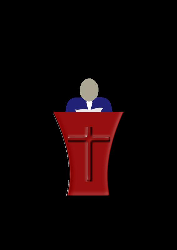 Preacher by siervo - Preacher from the pulpit