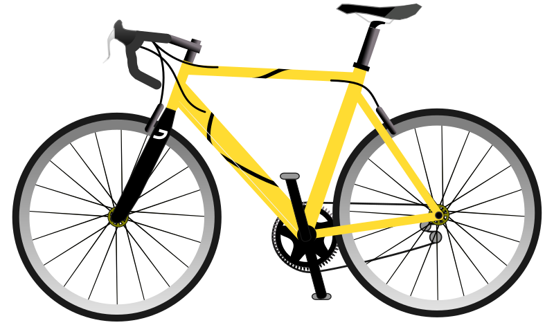 Yellow Speed Bike by bianchessi - A close enough vector drawing of a Speed Bike limited edition.