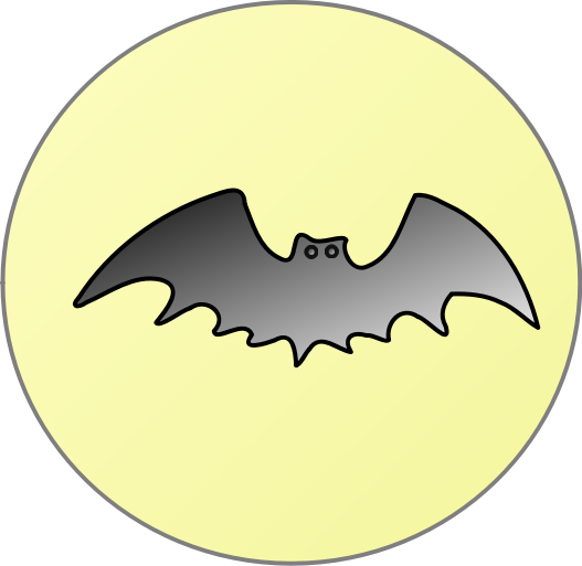Bat-in-front-of-moon by angelsonhigh - bat in front of the moon