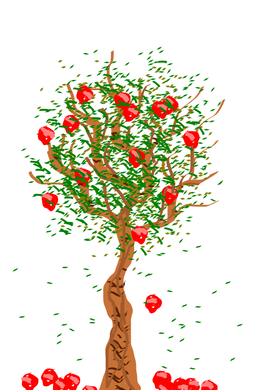 bare apple tree clipart. medium image (png) bare apple tree clipart