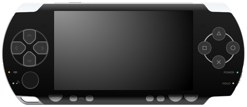 PSP 2000 Black by Todd Partridge - Gen2ly