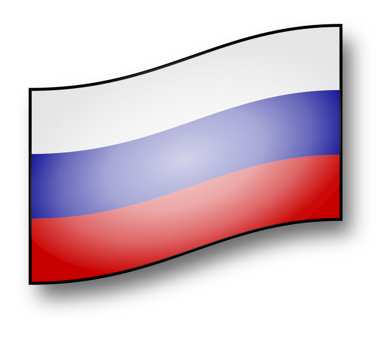 clickable Russia flag by GMcGlinn - a Russian flag you can click to light up