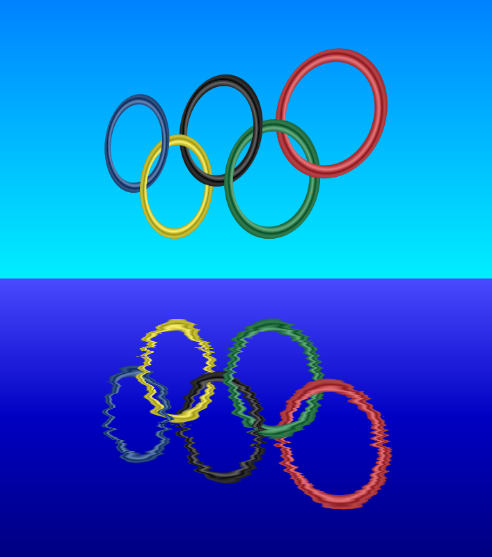 Olympic Rings by gustavorezende