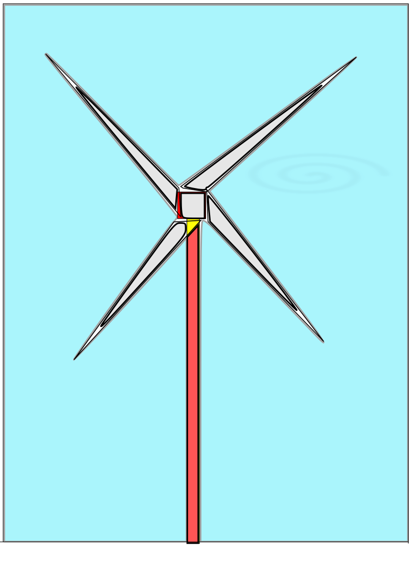 Clipart - Wind mill