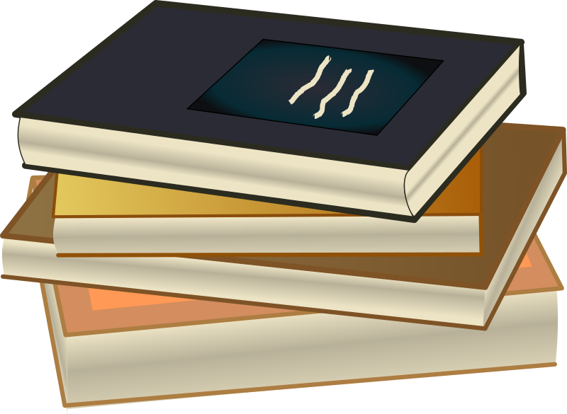 Book Stack - Pile de livres by cyberscooty - Book stack - pile de livres
